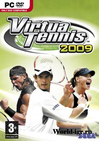 Virtua Tennis 2009 (2009/PC/RePack/RUS)