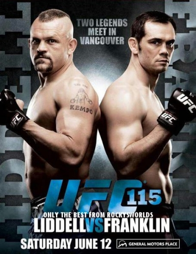 Бои без правил / UFC 115 / UFC 115 Liddell VS Franklin (2010)