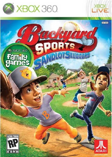 Backyard Sports: Sandlot Sluggers (2010/NTSC/ENG/XBOX360)