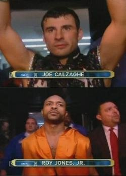 Рой Джонс - Джо Кальзаге / Roy Jones vs Joe Calzaghe [09.11.2008] TVRip